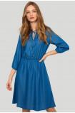 Lyocell long dress