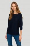 Openwork ladies' sweater