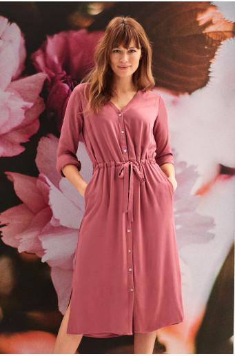 Classic button dress