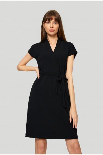 Straight black dress