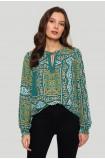 Loose oriental blouse