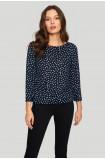Polka-dot ladies' sweater