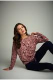 Polka-dot sweater