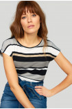 Classic striped top