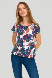 Floral ladies' top