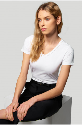 Cotton ladies' top