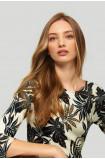 Floral ladies' sweater