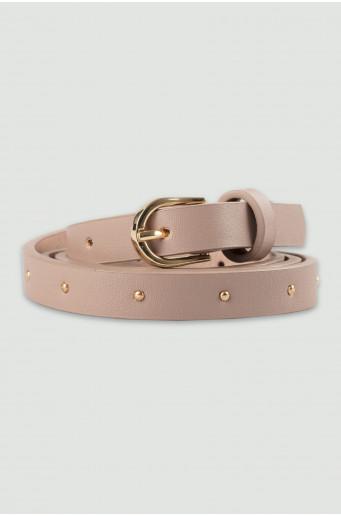 Decorative light beige belt