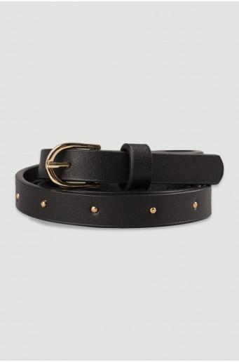 Decorative black belt