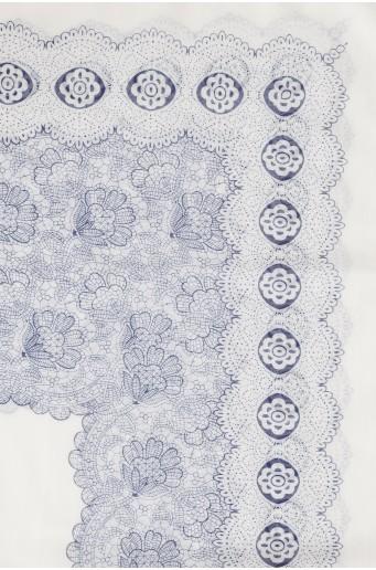 Biała apaszka