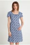Bavlněné šaty s potiskem